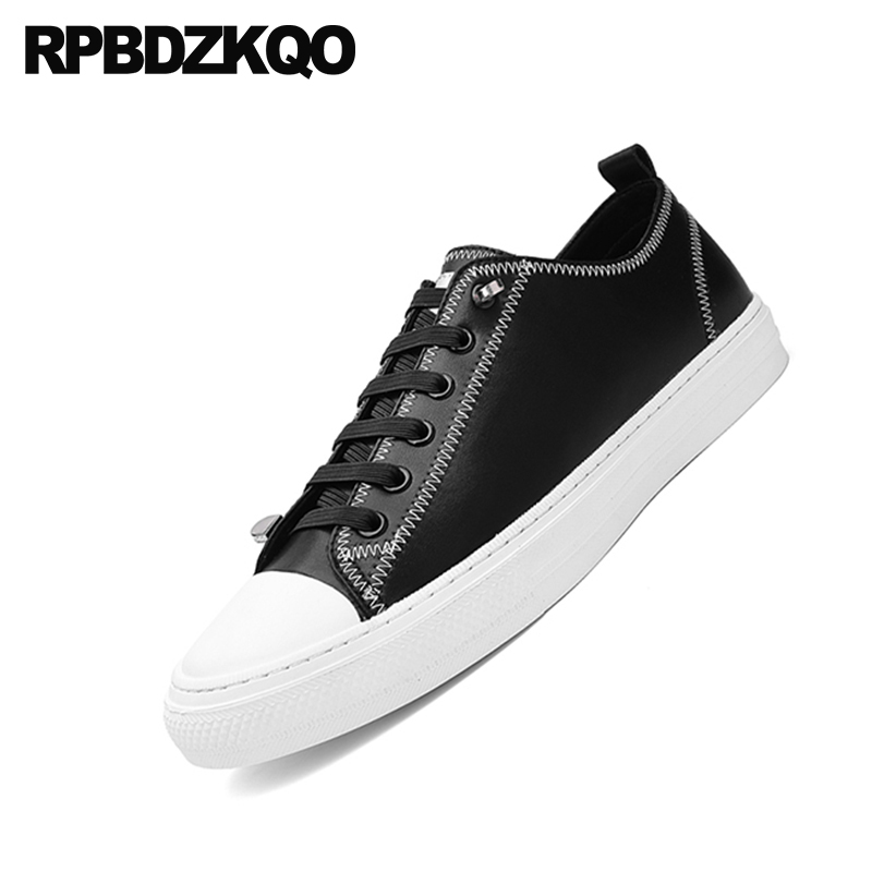 De China Diseñador Venta Up Hombres Slip Zapatillas Alta 2018 Negro On Primavera Lace Del Skate black Caliente Casual Conducción Zapatos Lujo Calidad Caminar Black Pisos S0wInxdFqI