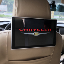 In Car Entertainment System Android 7.1 Headrest With Monitor For Chrysler 300C Auto TV Screen