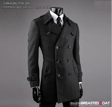 Осень мужская тренчи тонкий мода повседневная короткий траншеи пальто мужчины пальто jaqueta masculina casaco masculino плюс размер 9XL