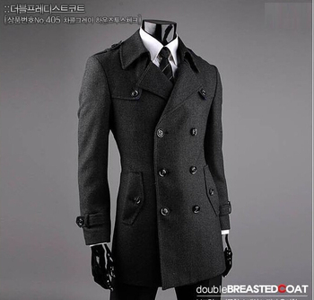 Autumn mens trench coats slim fashion casual casaco masculino short trench coat men overcoat jaqueta masculina plus size 9XL