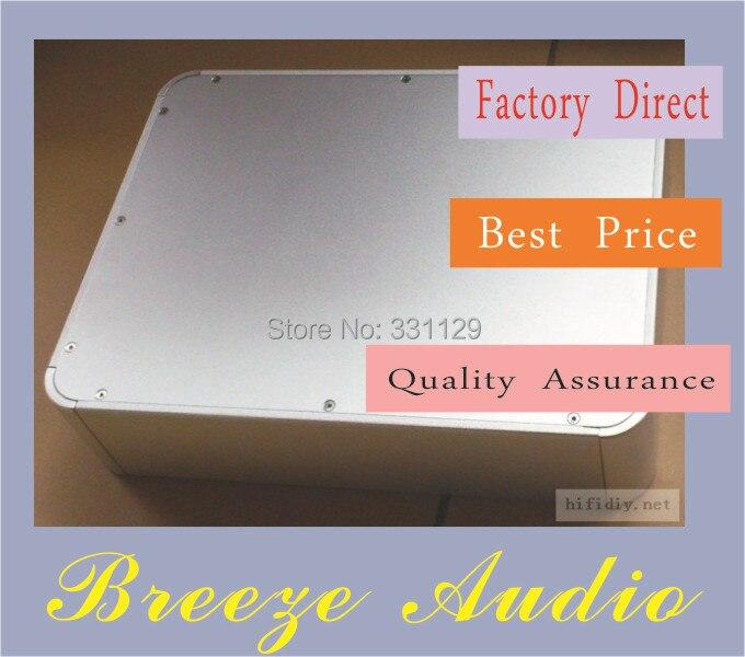 Breeze Audio-4308 round aluminum chassis breeze audio aluminum chassis 4308 preamp aluminum enclosure