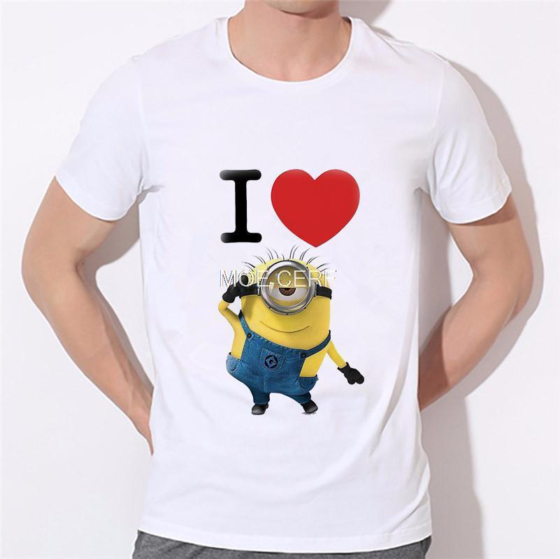 ALI shop ...  ... 32700459428 ... 5 ... 2020 men's fashion funny design simple one eye minion printed t-shirt cute tee shirts Hipster new arrivals O-neck cool top 18-1# ...