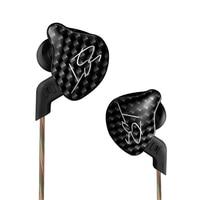 KZ ZST Armature Dual Driver In Ear Headphone Detachable Cable In Ear Earphone DJ Monitors Noise