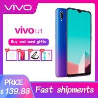 vivo U1 Mobile Phone 6.2inch Screen Snapdragon439 Octa Core Android 8.1 4030mAh Big Battery Face ID Smartphone 3G RAM 32G ROM