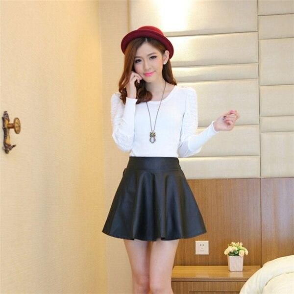 Leather Skirt For Girls