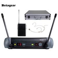 Betagear PXG14 динамической беспроводной микрофон брендов microfono микрофон гарнитуры microfon для караоке системы/малой сцене DJ Studio клуб