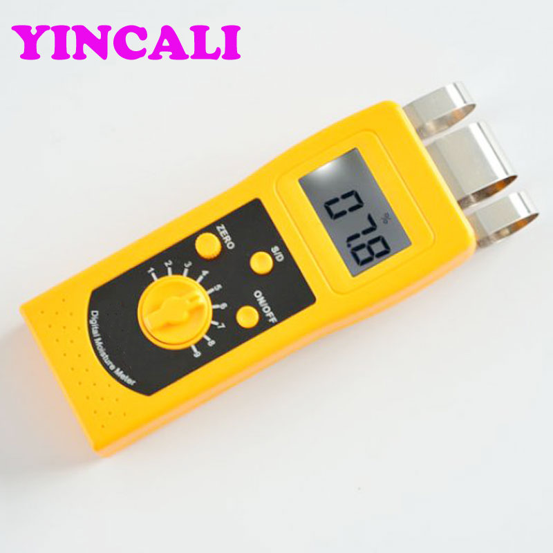 High Accuracy Digital Wood Moisture Meter DM200W Measuring range 0%-80% Portable Moisture Instrument Timber Moisture Tester футболка ea7 ea7 ea002ebzub13