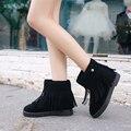 Nuevo Invierno de Las Mujeres Botas Botines de Moda 3 Colores Ugs Australia Botas Mujer Zapatos Mujer Mujeres Laarzen Mou Stivaletti Donna