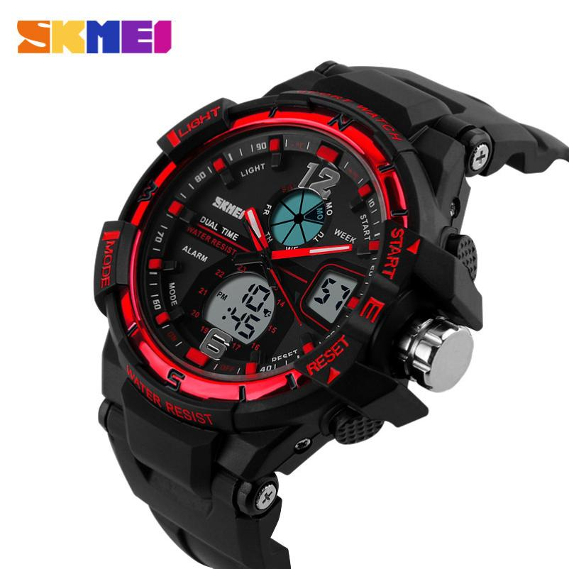 #5001 Leisure High Quality Creative SKMEI Watch Sport Quartz Wrist Men Analog Digital Waterproof Military high quality outdoor sports leisure fashion men watches multi functional quartz wrist watch creative
