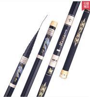 Pháo rods carbon cực dài cần câu cực 8 m 9 m 10 m 11 m 12 m siêu cứng đặc biệt tay cực Wolverine suối pole