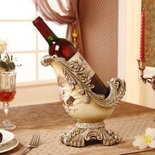 Xxxg/Европейский винный шкаф домашнего интерьера ювелирные украшения Роскошный декор смолы ремесел кабинет украшения красный винный шкаф хороший