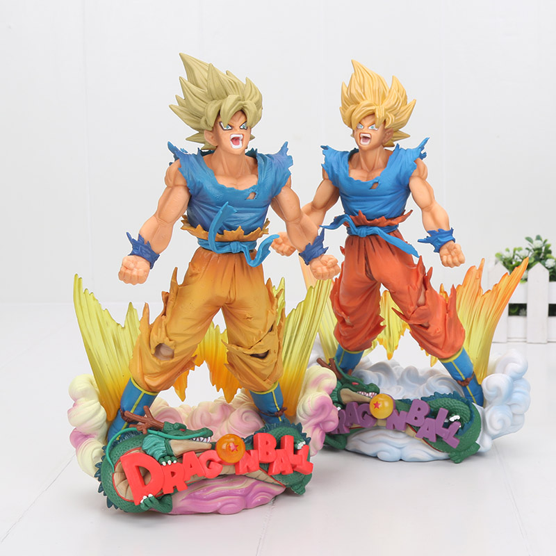 24cm Hot Sale Comic Anime Dragon Ball Z Super Master Stars Diorama Son Goku Battle Ver. Action Figure Toy24cm Hot Sale Comic Anime Dragon Ball Z Super Master Stars Diorama Son Goku Battle Ver. Action Figure Toy