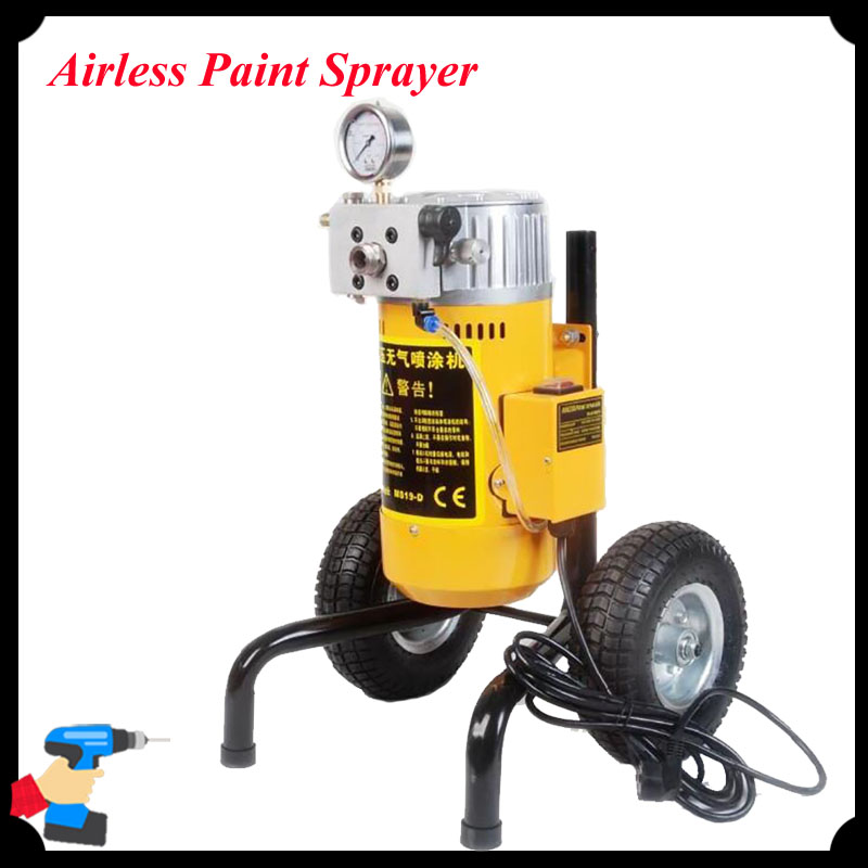 Electric Spray Gun Paint Sprayer Pneumatic Airless Paint Sprayer Paint Machine Emulsioni Paint Sprayer M819D fujiwara electric spray gun latex paint sprayer paint spray gun paint painting tools pneumatic high atomization 2 5mm