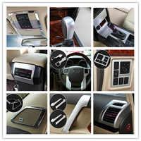 Para Toyota Land Cruiser 150 Prado LC150 FJ150 2010-2017 titular Handle Steerling Roda Tampa Da Engrenagem Do Carro Cromo Styling acessórios