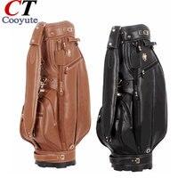 Cooyute Новый Сумки для гольфа Высокое качество PU Спортивные сумки в выборе 9.5 дюймов величество Гольф сумка тележка Бесплатная доставка