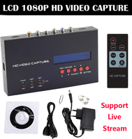 Original Ezcap Game Video Capture HDMI Ypbpr CVBS Recorder for PS3 PS4 Medical Endoscope TV STB can online Video Live Streaming
