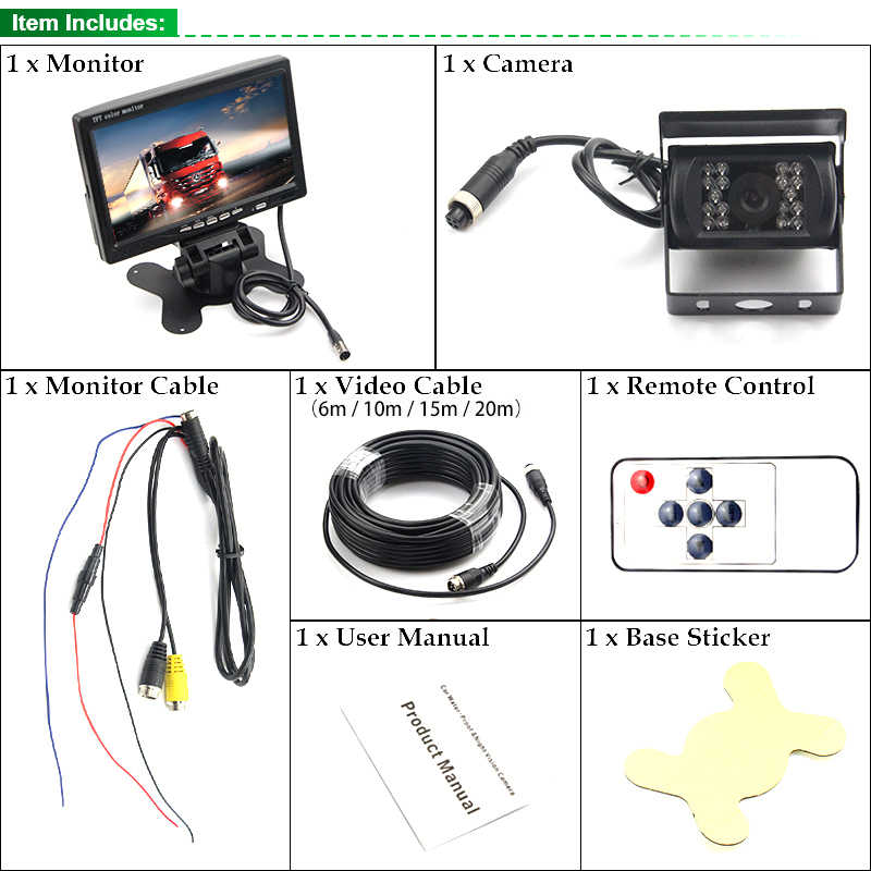 Pin Backup Camera Cable Connectors Also Tft Lcd Color ... on