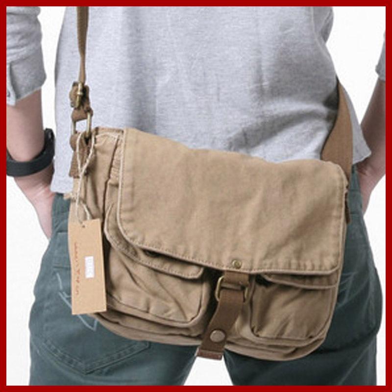 8035bfb0883 free shipping! new arrival fashion men canvas bags casual messenger zip men  side bag male brand hasp cover bag men s travel bags