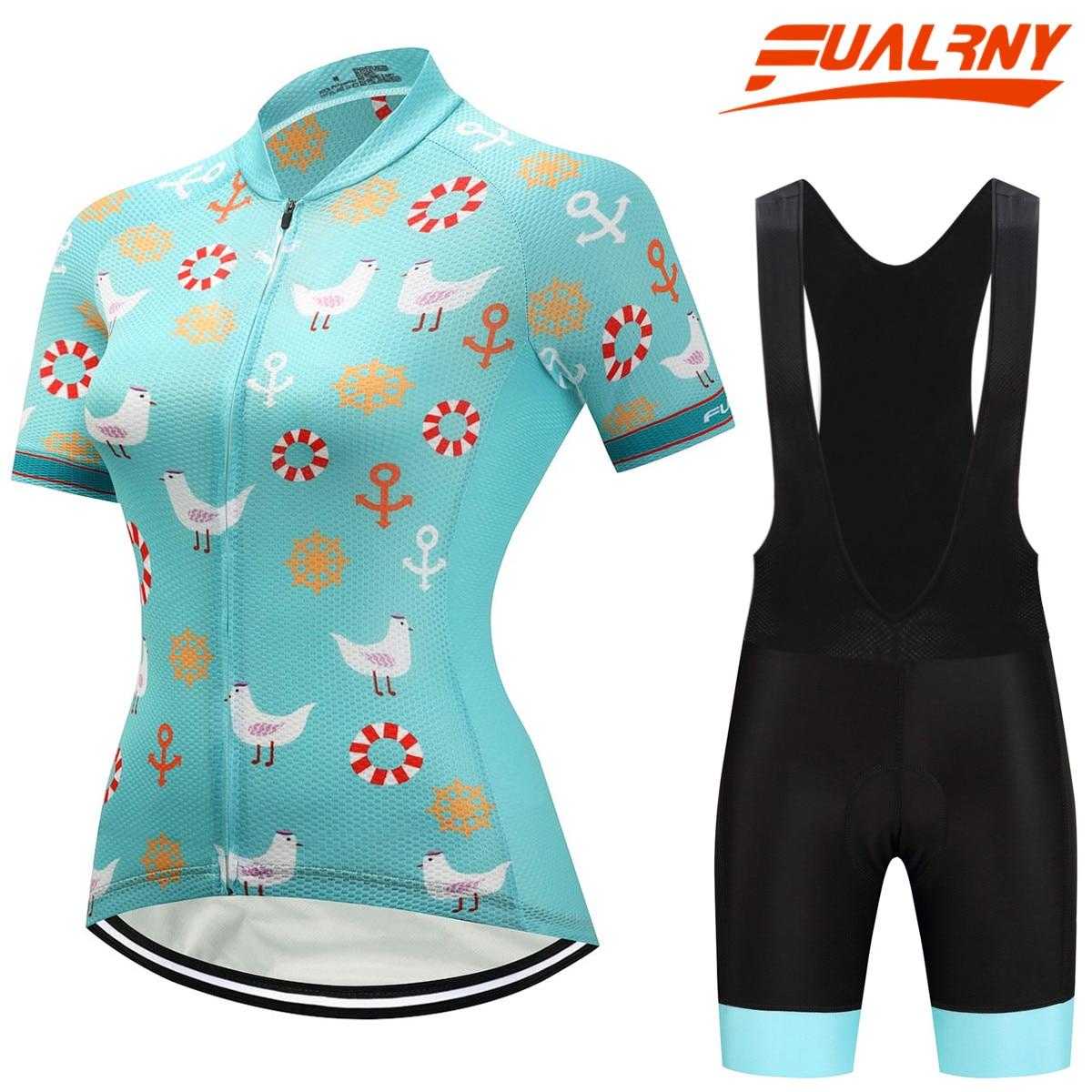 Fualrny hedia Для женщин велосипед рубашка 100% полиэстер дышащая Велосипедный Спорт Одежда Лето УФ Велосипедная форма быстрый сухой Велоспорт Дже...
