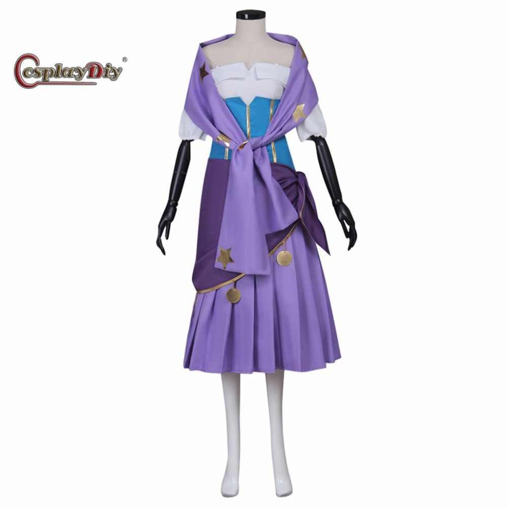 Costume Halloween Esmeralda.Cosplaydiy Movie The Hunchback Of Notre Dame Esmeralda Dress Adult Women Halloween Carnival Cosplay Costume Custom Made J5