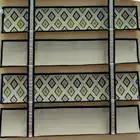 Melhor de Luxo Cortinas Romanas com o Jeito para cima e para baixo o sistema tipo rolo DIY LOGOTIPO da Empresa Roman Shades para Lobby Sala de restaurante - 4