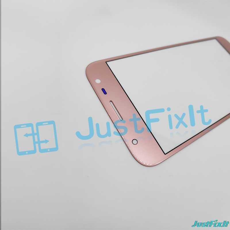 جديد قطع غيار سامسونج غالاكسي J3 2017 J330 J330F شاشة الكريستال السائل الزجاج الأمامي الخارجي زجاج عدسة استبدال أجزاء + أدوات