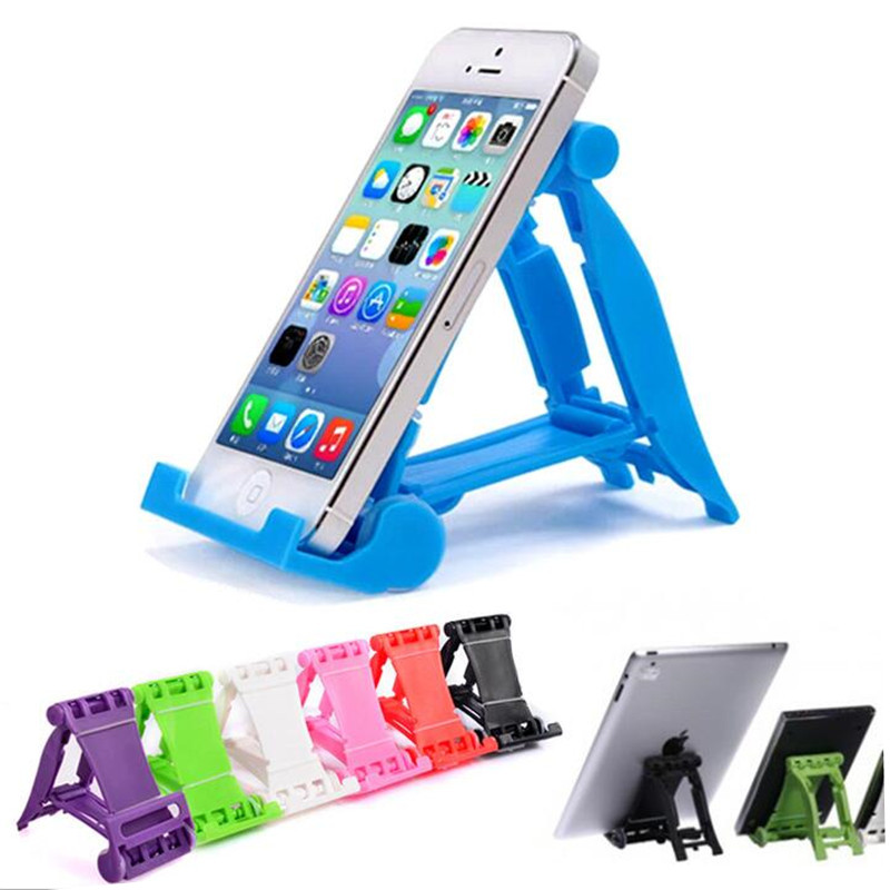 Mini Universal Adjustable Foldable Cell font b Phone b font Tablet Desk Stand font b Holder