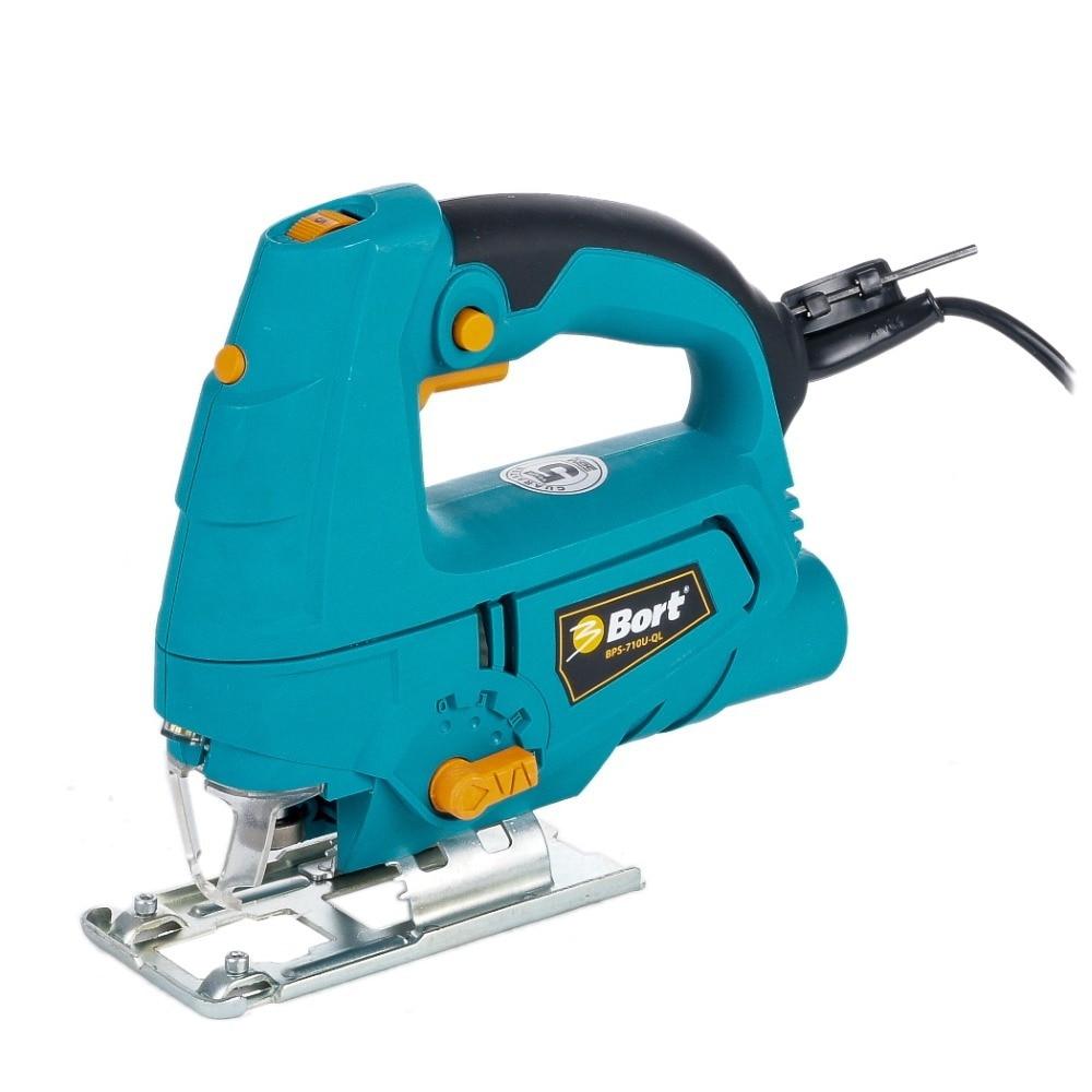 Jig saws Bort BPS-710U-QL bort bps 710u ql 93728045 электрический лобзик blue
