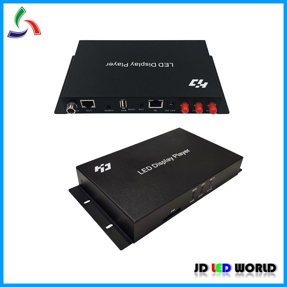 Huidu A3 HD A3 Async full Color Video LED Display Player Box Supports U Disk Network