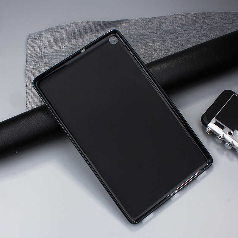 SZOXBY untuk SAMSUNG Galaxy Tab 10.1 Inci T510 T515 TPU Tablet Shell Anti-Fall Shockproof Mudah Dicuci Case Cover pelindung Shell