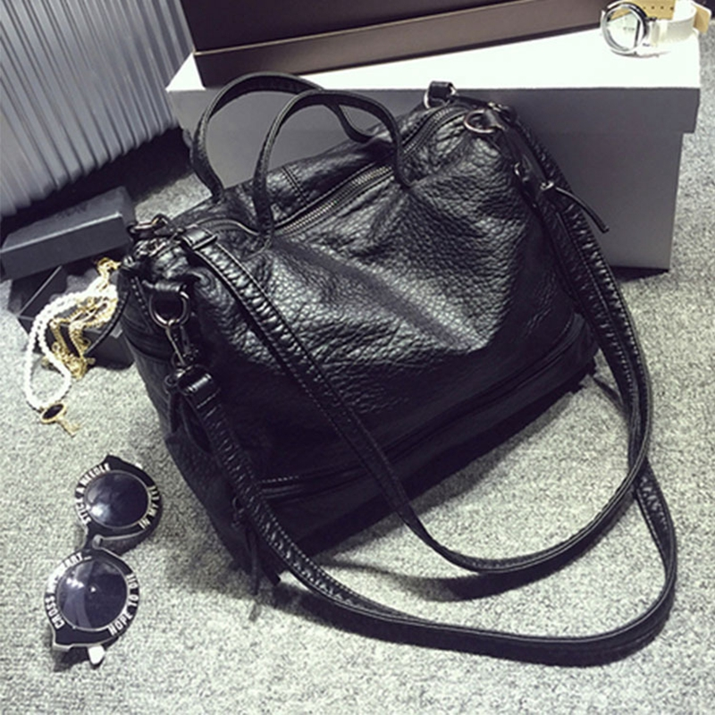 Bolsa Luxury Handbags Designer Leather Tote Female Mochila Handbags Women Shoulder Bag Top-Handle Bags Sac A Main Bts