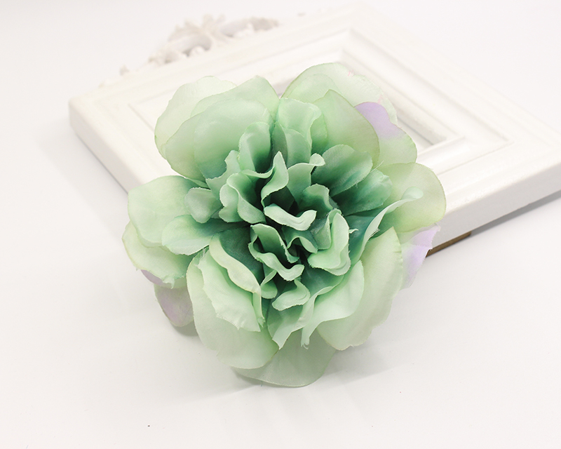 6 colors multi color big sunflower Blooming Fabric Flower Brooch Hair Clip Boutique Hair Accessories  2016 trendy fabric blooming peony flower corsage brooch woman hair decorations
