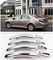 Новый Chrome Автомобилей Сторона Крышки Ручки Двери Накладка Для Toyota Camry 2012 2013 2014 2015 Бесплатно Падение Судоходство