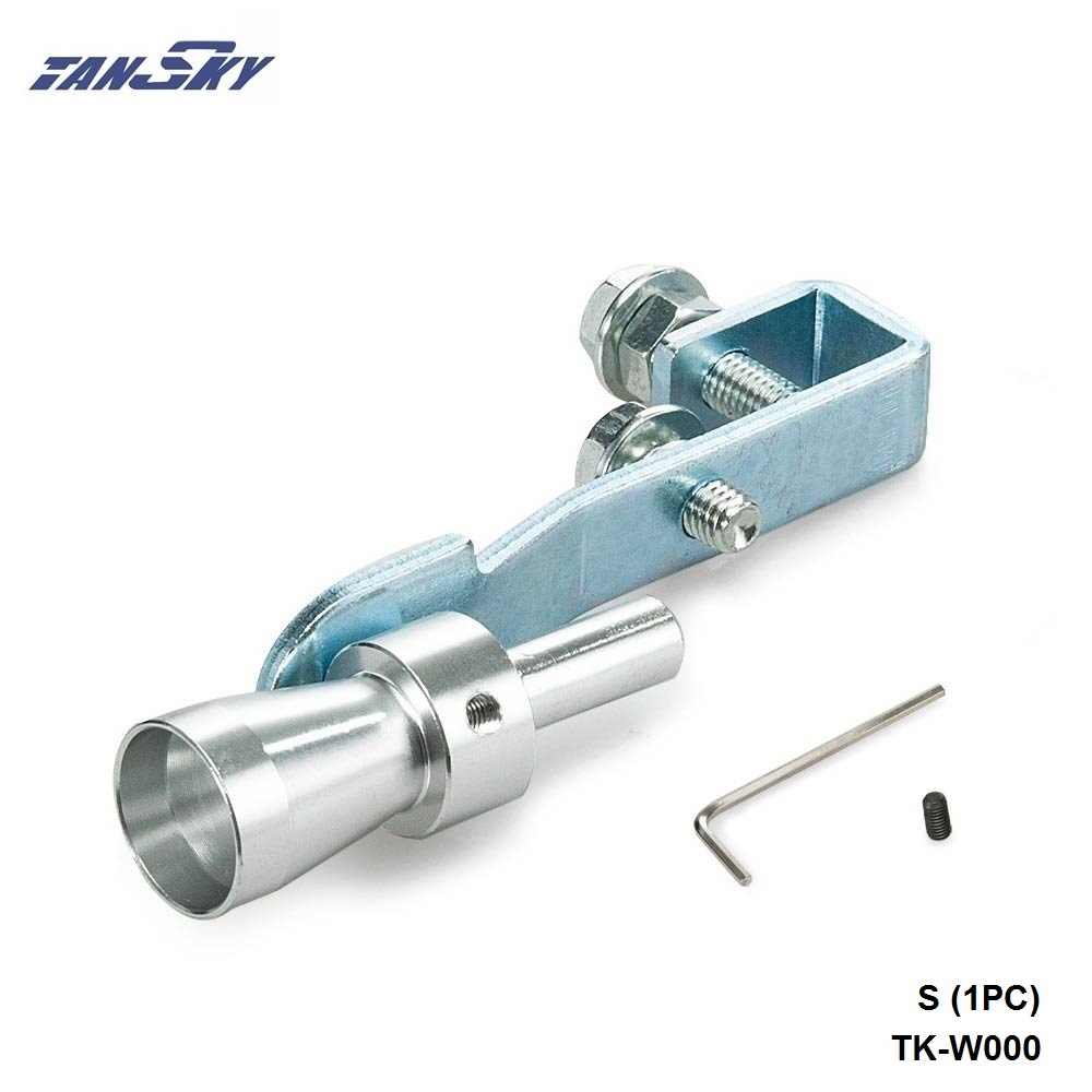 Universal Car Turbo Sound Whistle Muffler Exhaust Pipe Blow off Vale BOV Simulator Whistler Size S TK-W000(1PC) brand new high quality bov turbo blow off valve for hks sqv4 ssqv4 better performance than sqv3 fast delivery