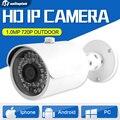 HD 720 P 1MP Cámara IP Al Aire Libre Impermeable de Visión Nocturna CCTV Cámara de Seguridad de Vigilancia P2P Nube APP Móvil Vista XMEye