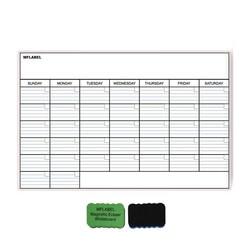 Mflabel 17 x11 monthly dry erase magnet fridge calendar magnetic calendar for refrigerator 43 28 write.jpg 250x250