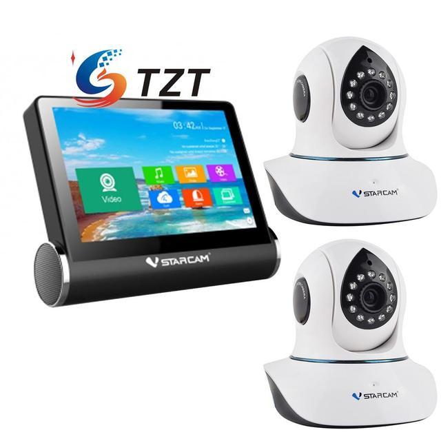 VStarcam NVS-K200 Monitor de Red de Servidor de Vídeo + WIFI Cámara de CCTV IP C7838WIP