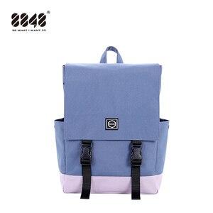 Image 3 - 8848 Phụ Nữ Hot Ba Lô Vải Canvas Màu Kẹo Chống Nước Trường Túi dành cho Thanh Thiếu Niên Nam Công Suất Lớn Laptop Lưng 092 060  008