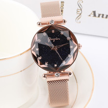 2018 Top Luxury Brand lady Crystal Watch Women Dress Watch Fashion Rose Gold Quartz Watches Female Stainless Steel Wristwatches
