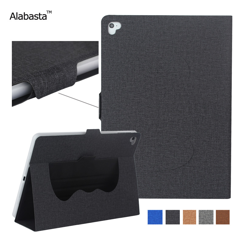 Case for iPad 2017 9.7 inch Alabasta Scrub PU Leather Smart Cover Folio Stand Casual Case Auto Wake Shell for new iPad2017 9.7 alabasta cover case for apple ipad air1