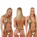 sexy lingerie hot women Imitation leather bikini sexy costume erotic lingerie sexy slim lingerie dress underwear adjustable P30