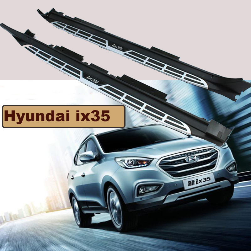 For Hyundai ix35 2010-2017 Car Running Boards Auto Side Step Bar Pedals High Quality Brand New Original Design Nerf Bars