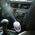 12V Car Air Purifier Steam Humidifier Car Aroma Diffuser Air Essential Oil Air Car Aromatherapy Mist Maker Fogger