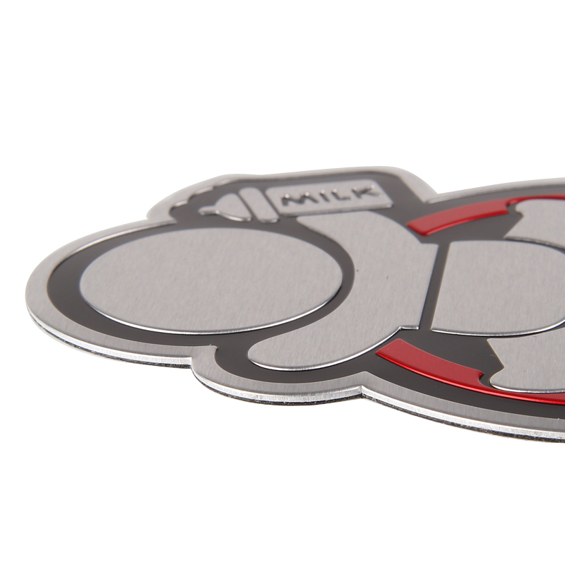 10*7.5CM Car Styling Aluminum Alloy Emblem Badge for BABY in CAR Logo Sticker for Mitsubishi Ford Jaguar Ferrari Hyundai Toyota