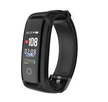 M4 Smart Armband Fitness Tracker Kleur Screen Sport Bloeddruk real time Hartslagmeter IP67 Waterdichte Smartt Horloge