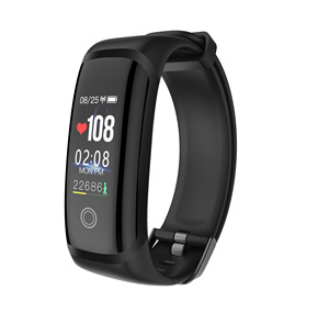 Image 1 - M4 Smart Armband Fitness Tracker Kleur Screen Sport Bloeddruk real time Hartslagmeter IP67 Waterdichte Smartt Horloge