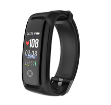M4 سوار ذكي جهاز تعقب للياقة البدنية شاشة ملونة الرياضة ضغط الدم في الوقت الحقيقي مراقب معدل ضربات القلب IP67 مقاوم للماء ساعة Smartt