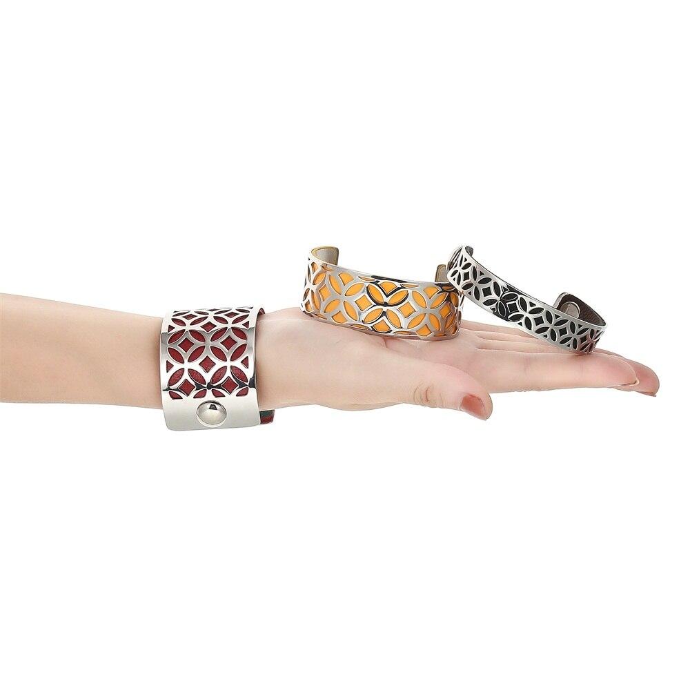 Cremo Giraffe 25 Mm Rose Gold Edelstahl Armbänder & Armreifen 12 Farben Austauschbare Personalisierte Manschette Armreif Geschenke Armbänder & Armreifen