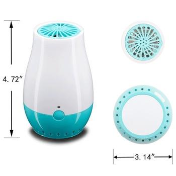 Generatore Di Ozono Portatile Addebitabile USB Casa Purificatore D'aria Ozono Filtro Dell'aria Ionica Togli Il Fumo Odore Batteri Ozono Deodorante