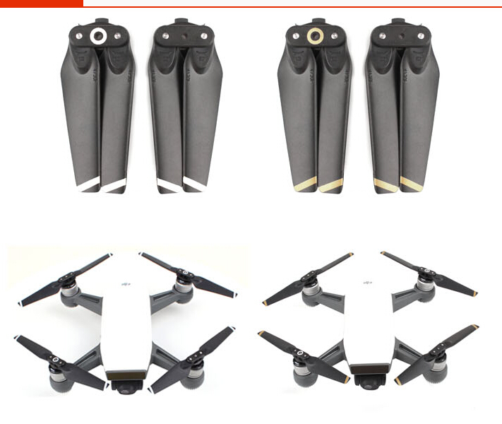 Spark Propellers Quick-release Folding Carbon Fiber 4730F Blades Propeller for Spark Drone Accessories